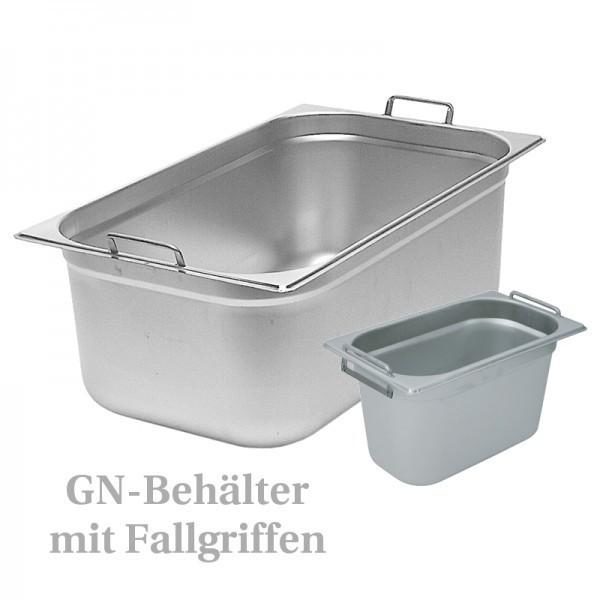GN-Behälter - mit Fallgriffen
