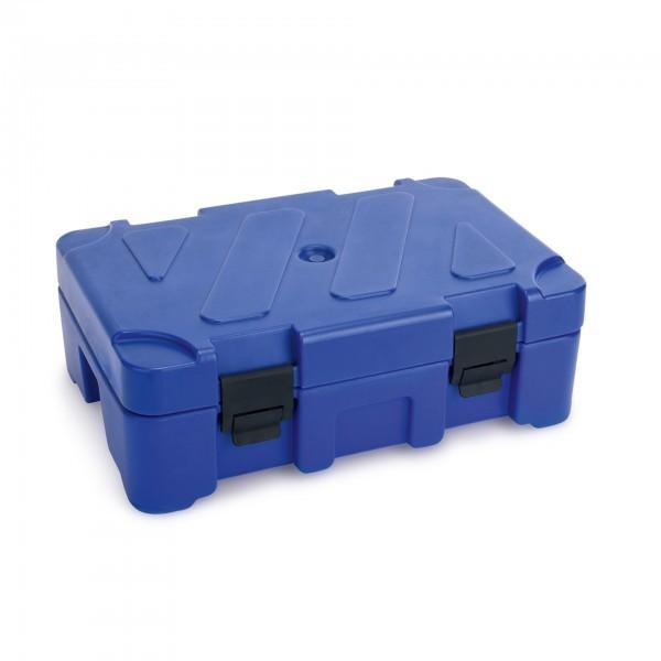 GN-Thermotransportbehälter - Kunststoff - blau - für GN Behälter 1/1