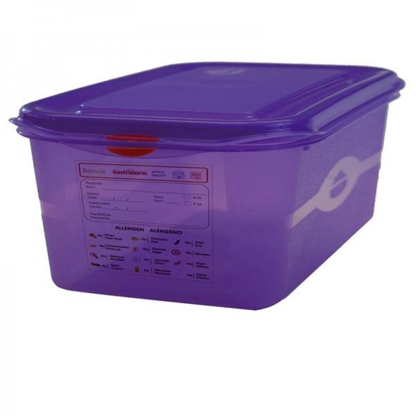 GN-Behälter - lila - 150 mm - GN 1/2