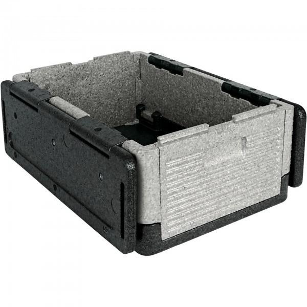 GN-Thermotransport-Klappbox - Kunststoff - zusammenklappbar