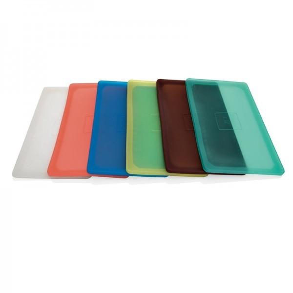 Flexsil Deckel in versch. Farben - multifunktional