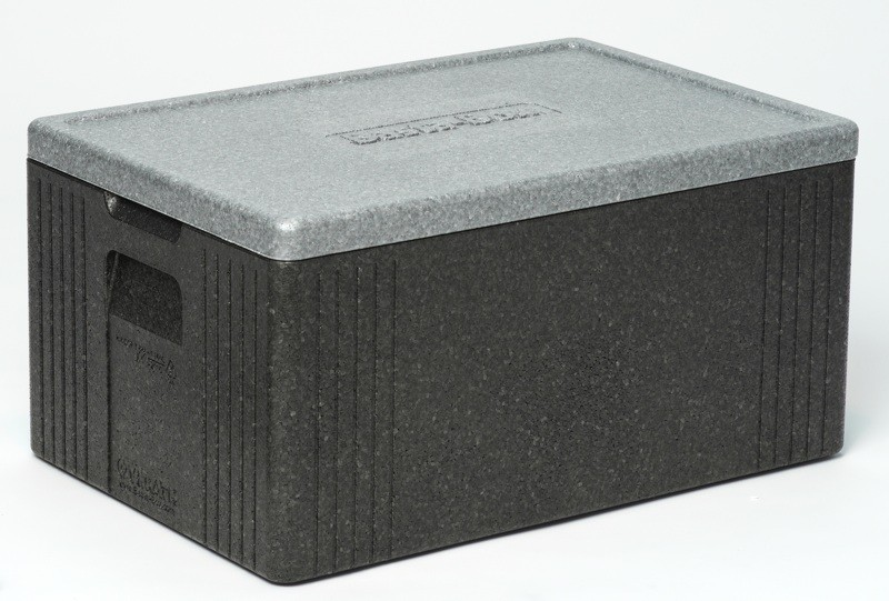 gastlando Thermotransportbehälter für GN-Behälter1//1 mit fester Fronttür