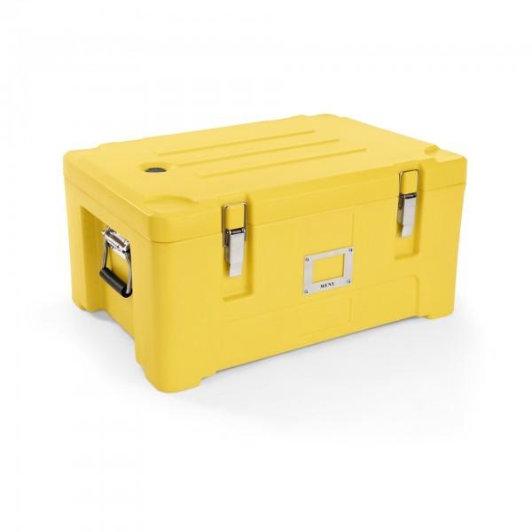 GN-Thermotransportbehälter - Polyethylen - gelb